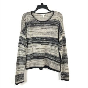 EILEEN FISHER MARLED WOOL/LINEN SWEATER (Large)